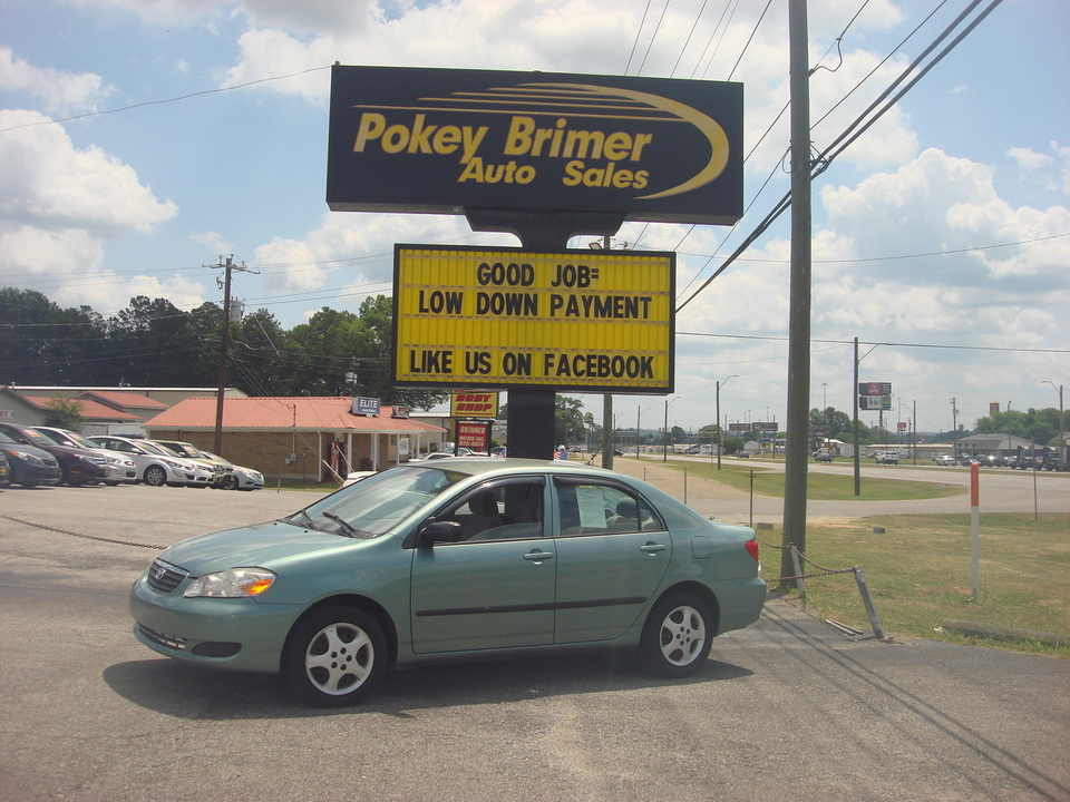 2006 Toyota Corolla  - Pokey Brimer