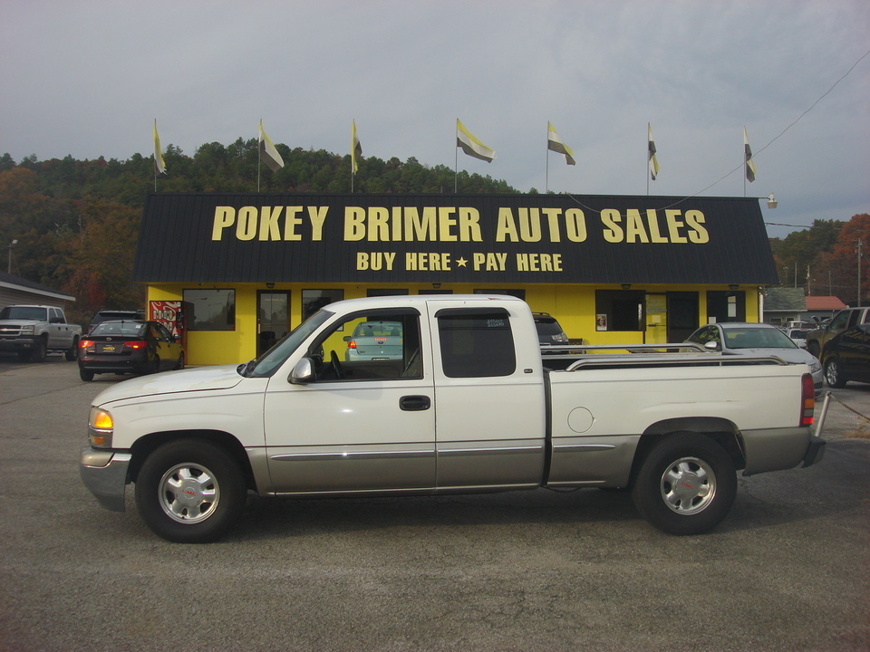 2000 GMC Sierra 1500 Pickup Extended Cab Short Bed  - 6997  - Pokey Brimer