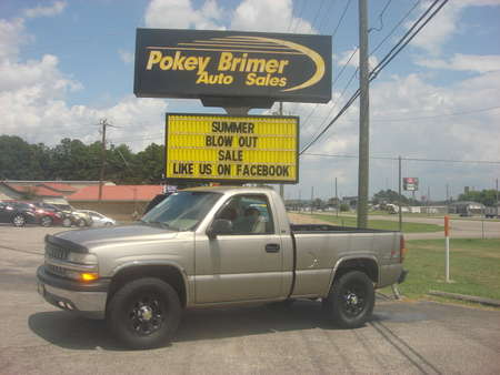 2001 Chevrolet Silverado 1500 - 4X4 for Sale  - 6973  - Pokey Brimer