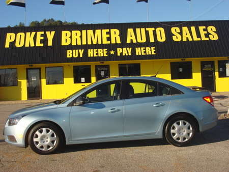 2012 Chevrolet Cruze  for Sale  - 6601  - Pokey Brimer