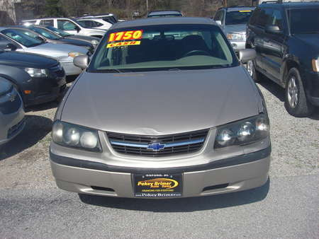 2003 Chevrolet Impala  for Sale  - 5925  - Pokey Brimer