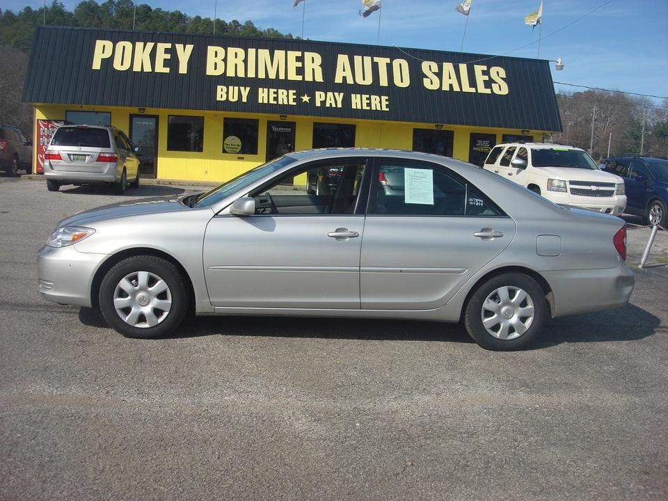 2002 Toyota Camry  - 7210  - Pokey Brimer