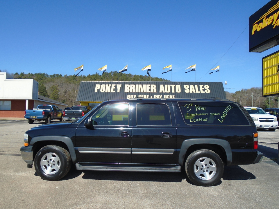 2005 Chevrolet Suburban - 3RD ROW SEATING  - 7405  - Pokey Brimer
