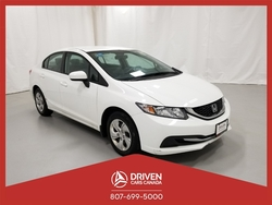 2014 Honda Civic LX SEDAN CVT  - 1608TA  - Driven Cars Canada