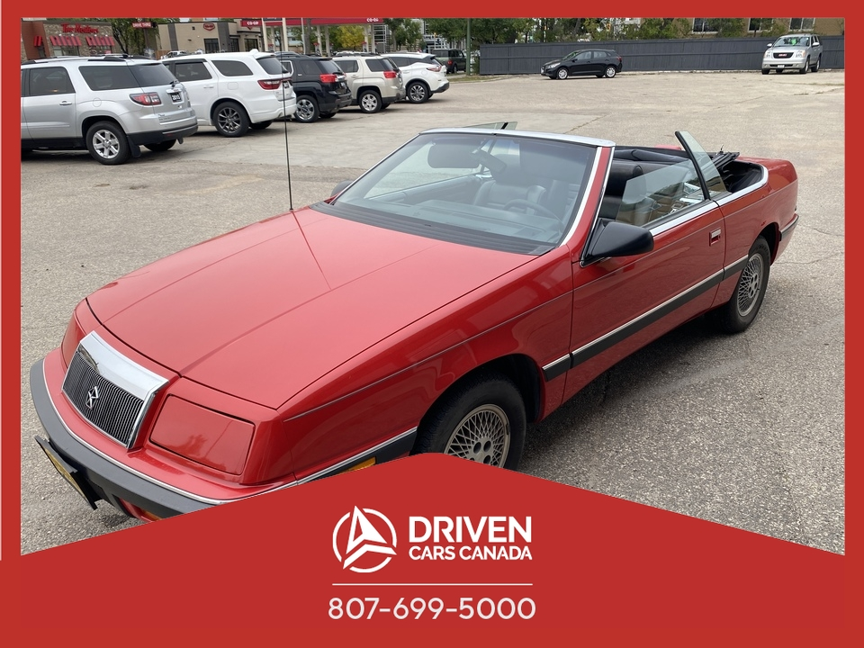 1989 Chrysler Lebaron Highline image 1 of 15