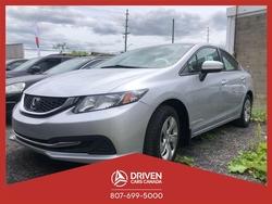 2015 Honda Civic LX SEDAN CVT  - 1536TA  - Driven Cars Canada