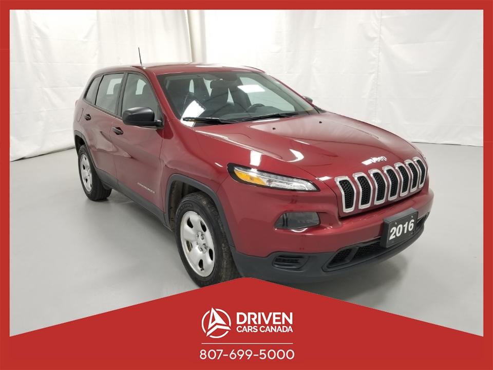 2016 Jeep Cherokee SPORT 4WD image 1 of 32