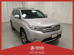 2012 Toyota Highlander LIMITED 4WD  - 2051TW  - Driven Cars Canada