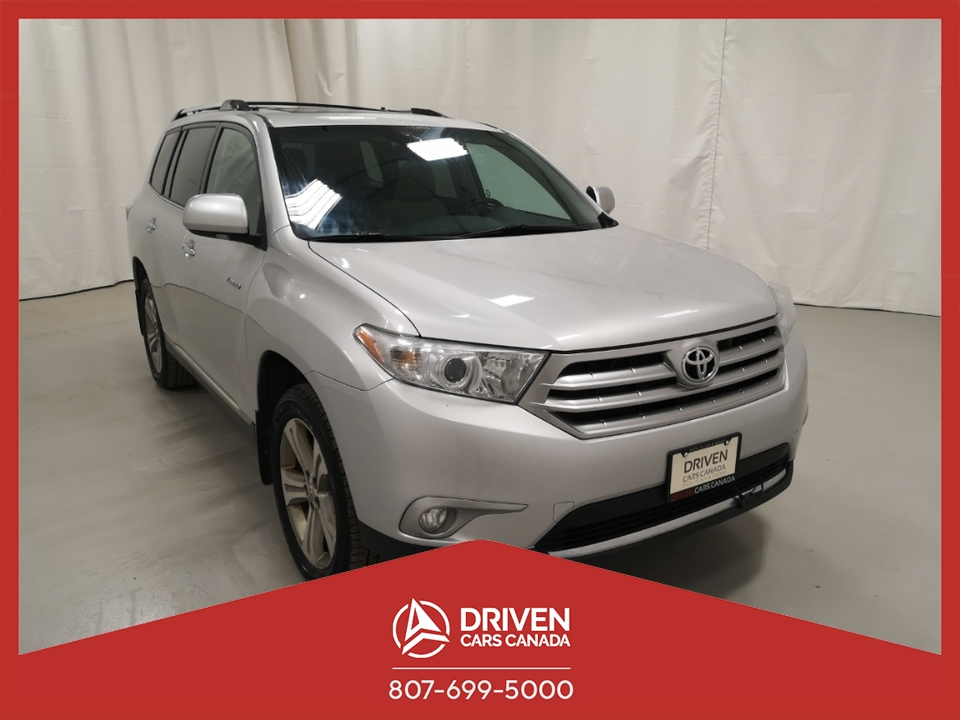 2012 Toyota Highlander LIMITED 4WD image 1 of 16