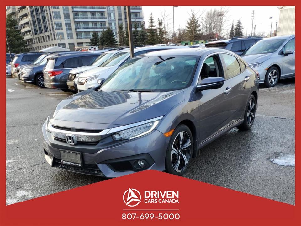 2017 Honda Civic TOURING SEDAN CVT image 1 of 8