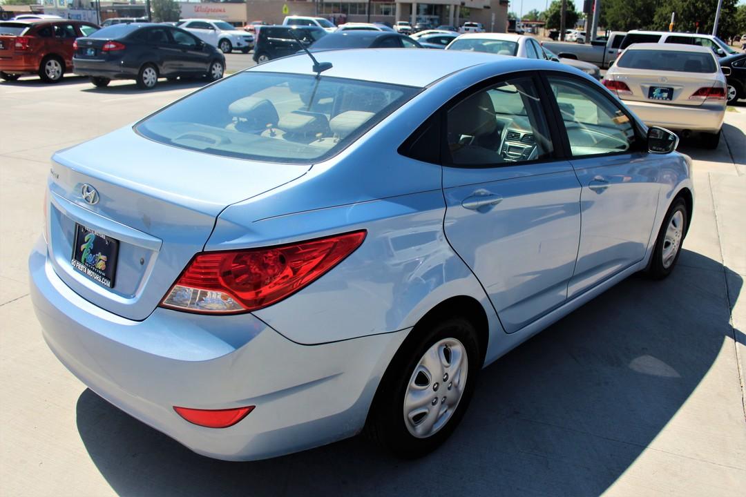 2012 Hyundai Accent  - Fiesta Motors