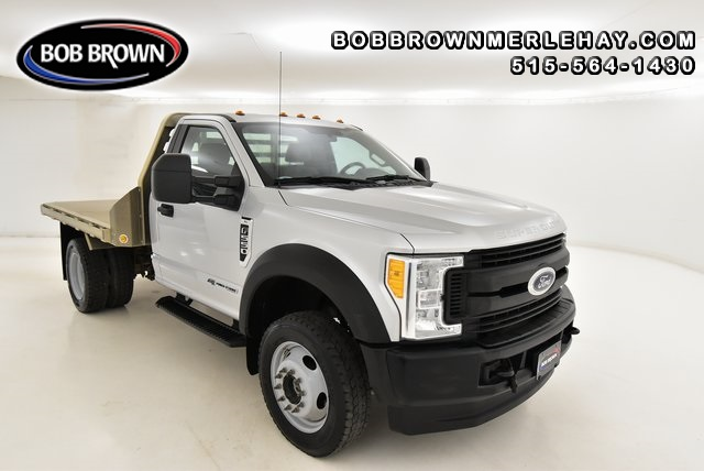 2017 Ford F-550 ALUMINUM FLATBED WITH GOOSENECK HITCH 4WD Regular  - WB79020  - Bob Brown Merle Hay