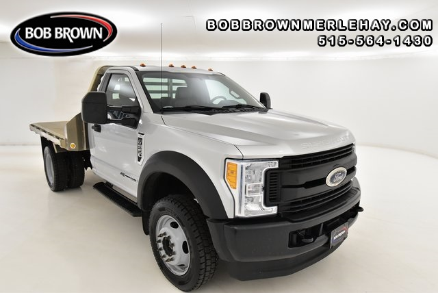 2017 Ford F-550 ALUMINUM FLATBED AND GOOSENECK 4X4 4WD Regular Cab  - WB79023  - Bob Brown Merle Hay