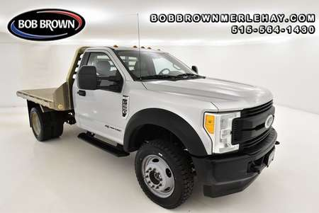 2017 Ford F-550 ALUMINUM FLATT BED AND GOOSENECK HITCH 4WD Regular for Sale  - WB79024  - Bob Brown Merle Hay