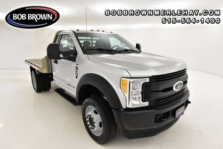 2017 Ford F-550 ALUMINUM FLATBED W/GOOSENECK HITCH 4WD Regular Cab for Sale  - WB79017  - Bob Brown Merle Hay