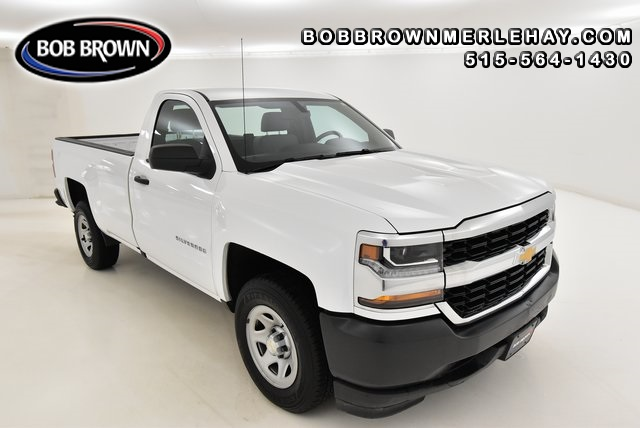 2017 Chevrolet Silverado 1500 WT 2WD Regular Cab  - W143216  - Bob Brown Merle Hay