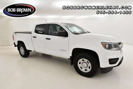 2018 Chevrolet Colorado Work Truck 4WD Crew Cab for Sale  - W345123A  - Bob Brown Merle Hay