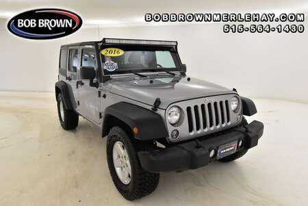 2016 Jeep Wrangler Unlimited Sport 4WD for Sale  - W224171  - Bob Brown Merle Hay