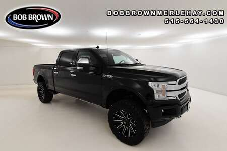 2018 Ford F-150 Platinum 4WD SuperCrew for Sale  - W289589A  - Bob Brown Merle Hay