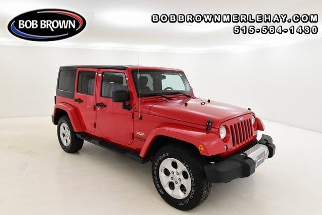 2014 Jeep Wrangler Unlimited Sahara 4WD  - W173019  - Bob Brown Merle Hay