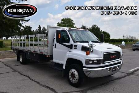 2009 GMC TC5500 FLATBED WITH TOMMY GATE 2WD for Sale  - W410939  - Bob Brown Merle Hay