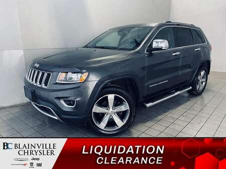 2016 Jeep Grand Cherokee LIMITED * CUIR * CAM RECUL * BLUETOOTH * CRUISE * for Sale  - BC-21307a  - Desmeules Chrysler