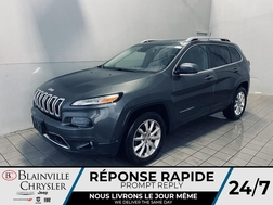 2015 Jeep Cherokee LIMITED * 4X4 * CUIR * TOIT * VOLANT CHAUFFANT *  - BC-S2161A  - Blainville Chrysler