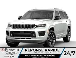 2021 Jeep Grand Cherokee L Overland V6 7 PASSAGERS * RÉSERVEZ-LE *  - BC-C A3036920  - Blainville Chrysler