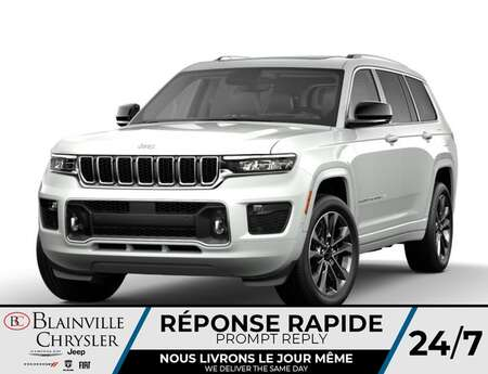 2021 Jeep Grand Cherokee L Overland V6 7 PASSAGERS * RÉSERVEZ-LE * for Sale  - BC-C A3036920  - Blainville Chrysler