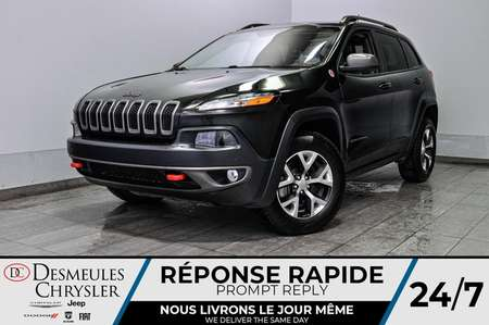 2016 Jeep Cherokee Trailhawk + uconnect + bancs et volant chauff for Sale  - DC-L1992  - Blainville Chrysler