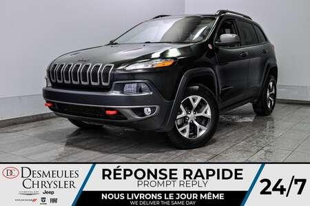 2016 Jeep Cherokee Trailhawk + uconnect + bancs et volant chauff for Sale  - DC-L1992  - Desmeules Chrysler