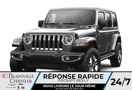 2021 Jeep Wrangler Unlimited Sahara 80e Anniversaire * RÉSERVEZ-LE * for Sale  - BC-C 47500343  - Desmeules Chrysler