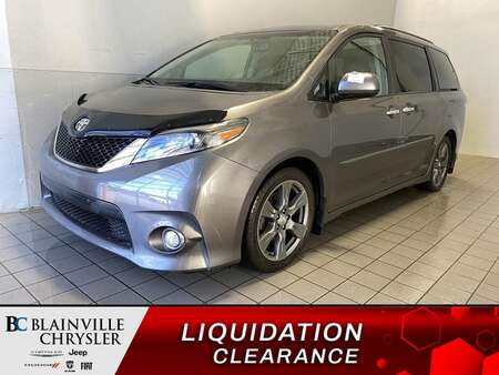 2017 Toyota Sienna SE * SIEGES CHAUFFANTS * CAM RECUL * BLUETOOTH * for Sale  - BC-M1932  - Blainville Chrysler