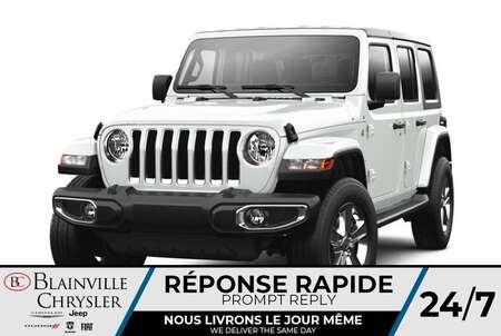 2021 Jeep Wrangler Unlimited Sahara 80e Anniversaire * for Sale  - BC-C 47500338  - Desmeules Chrysler