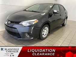 2014 Toyota Corolla BLUETOOTH * CRUISE * MANUEL * ECONOMIQUE  - BC-S2019  - Blainville Chrysler