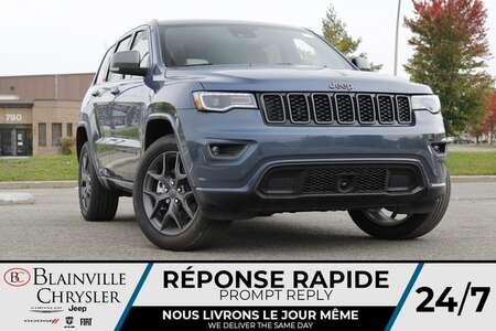 2021 Jeep Grand Cherokee 80TH ANNIVERSARY * TOIT OUVRANT * APPLE CARPLAY for Sale  - BC-21663  - Desmeules Chrysler