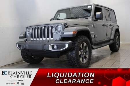 2020 Jeep Wrangler SAHARA * 2 TOITS * AUTO. * VOLANT + SIEGES CHAUFF. for Sale  - BC-S2414  - Blainville Chrysler