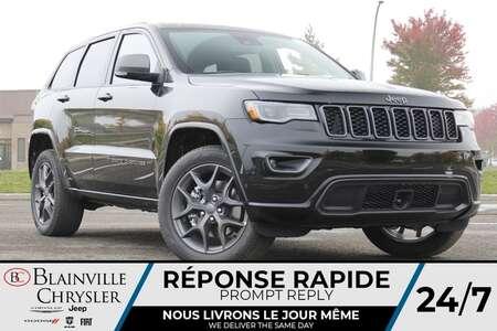 2021 Jeep Grand Cherokee 80EME ANNIVERSAIRE * PHARES BI-XENON * PARK SENSE for Sale  - BC-21807  - Desmeules Chrysler