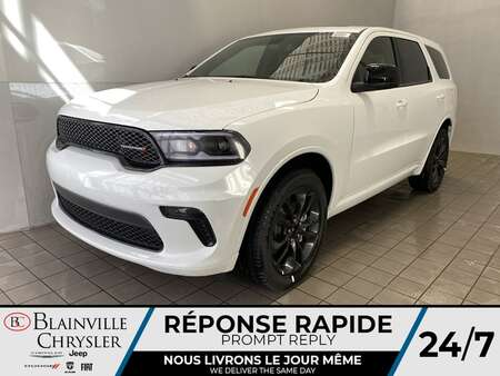 2021 Dodge Durango SXT BLACKTOP AWD * 7 PASSAGERS * TOIT OUVRANT * for Sale  - BC-21425  - Desmeules Chrysler