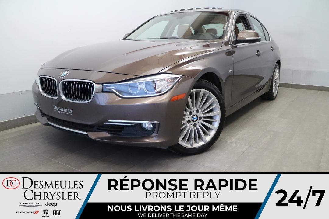 2013 BMW 3 Series  - Desmeules Chrysler