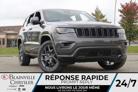 2021 Jeep Grand Cherokee 80EME ANNIVERSAIRE * CUIR CHAUFFANT (AV./ ARR.) * for Sale  - BC-21706  - Blainville Chrysler