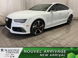 2017 Audi RS 7 Prestige * CARBON FIBER PACKAGE * GPS * TOIT *  - BC-SIM007  - Desmeules Chrysler