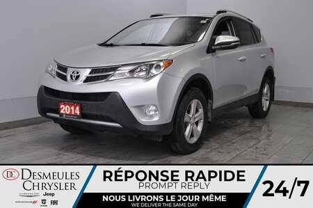 2014 Toyota Rav4 XLE + toit ouv + bancs chauff + a/c + bluetooth for Sale  - DC-L1978  - Desmeules Chrysler