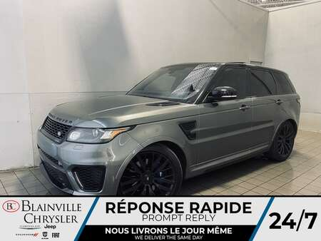 2016 Land Rover Range Rover V8 SVR 4WD * CRUISE * TOIT OUVRANT * WOW ! * for Sale  - BC-S2041A  - Blainville Chrysler