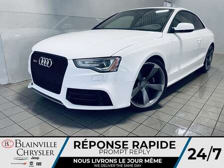 2013 Audi RS5 GPS * CAM RECUL * SIEGES CHAUFFANTS * TOIT * for Sale  - BC-S2071  - Desmeules Chrysler