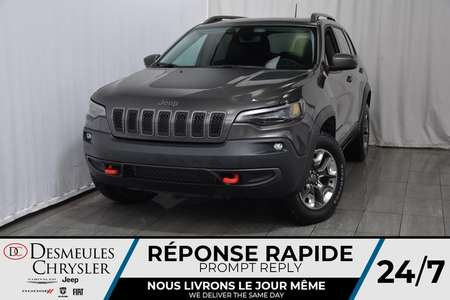 2019 Jeep Cherokee Trailhawk + BANCS CHAUFF + UCONNECT 106$/SEM for Sale  - DC-90063  - Desmeules Chrysler