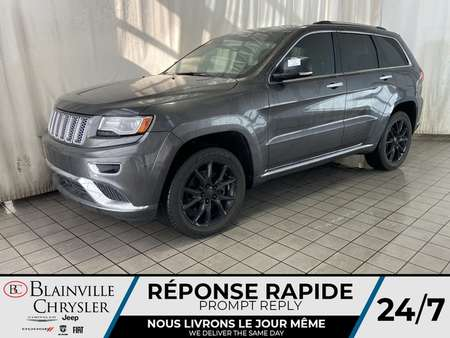 2014 Jeep Grand Cherokee Summit * TOIT PANORAMIQUE * CAM RECUL * NAV * for Sale  - BC-20286A  - Blainville Chrysler