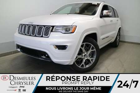 2021 Jeep Grand Cherokee OVERLAND AWD * NAVIGATION * TOIT OUVRANT * CUIR * for Sale  - DC-21683  - Blainville Chrysler