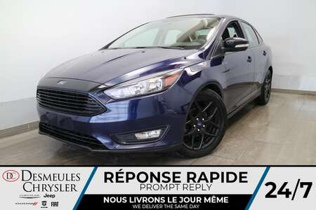 2017 Ford Focus SE * TOIT OUVRANT * A/C * CAMERA DE RECUL * for Sale  - DC-S2798  - Desmeules Chrysler