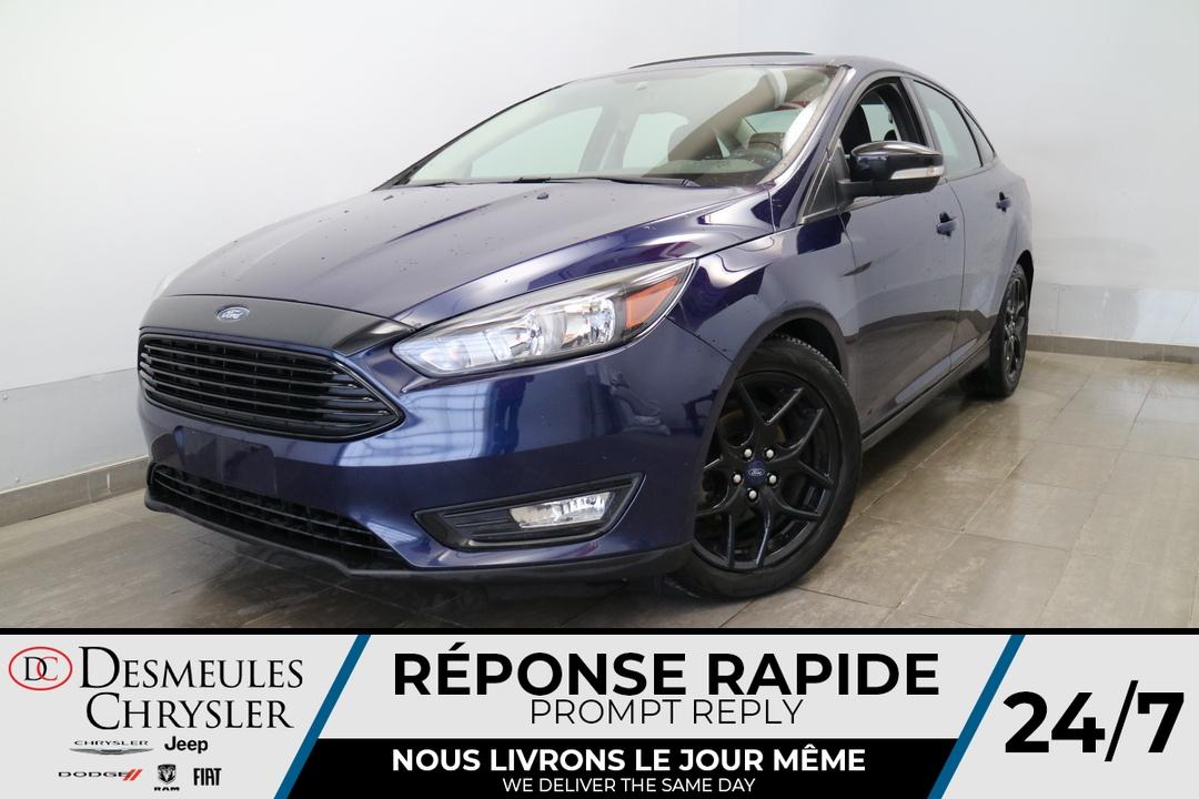 2017 Ford Focus  - Desmeules Chrysler